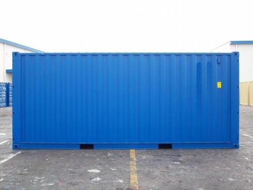 20er double door container in hamburg neuwertig mit t ren an beiden seiten des containers. Black Bedroom Furniture Sets. Home Design Ideas