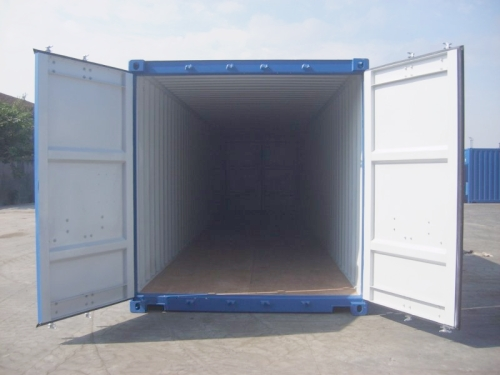 40er Double Door Container Verkauf Hamburg neuwertig Türen an beiden ...