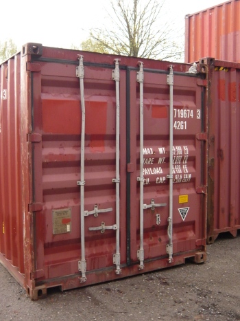 gebrauchte container diverse 40er box gebraucht. Black Bedroom Furniture Sets. Home Design Ideas