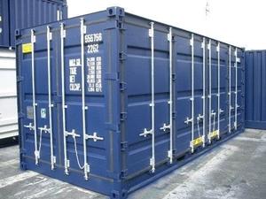 full side access container gebraucht verkauf in hamburg. Black Bedroom Furniture Sets. Home Design Ideas